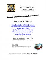 Affiche de la bibliotheque-nov-2017
