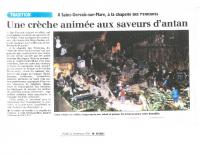 Crèche animée article 2012